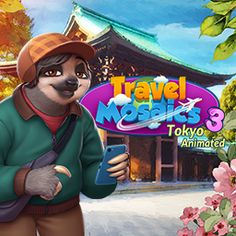 Travel Mosaics is an absolutely beautiful and brilliant edutainment game for all ages. New Puzzle Games, Puzzles For Kids, Videogames, Design Art, Tokyo, Teen, Animation, Mosaics, Travel