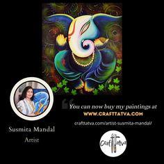 Famous Contemporary Artists, Original Artwork, Original Paintings, India, The Originals, Crafts, Goa India, Manualidades, Handmade Crafts