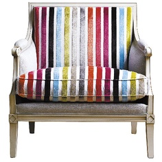 Roche Bobois upholstered chair. One that will go with lots of colors and many different decors....