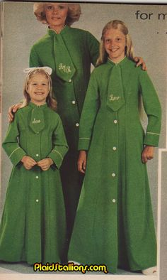 Plaid Stallions : Rambling and Reflections on '70s pop culture: Sleep Uniforms