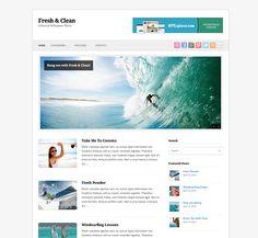 Fresh & Clean Free Minimal WordPress Theme