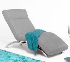 Moderne Relaxliege Space | In Freundlichem Hellgrau Zeigt Sich Die  Einzelliege In Ansprechendem Design Und Punktet