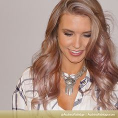 OBSESSED with Audrina Patridge's new hair color!!!!
