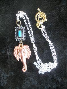 Elephant Majesty by AmalgamationsbyD on Etsy, $22.00