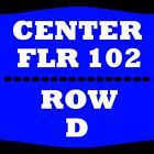 #Ticket  2 TIX RODNEY CARRINGTON 5/14 FLOOR 102 ROW D VON BRAUN CENTER ARENA HUNTSVILLE #deals_us