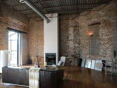 papier peint imitation brique ambiance loft