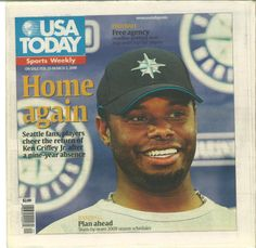 Ken Griffey Jr., USA Today Sports Weekly (2009) #Mariners
