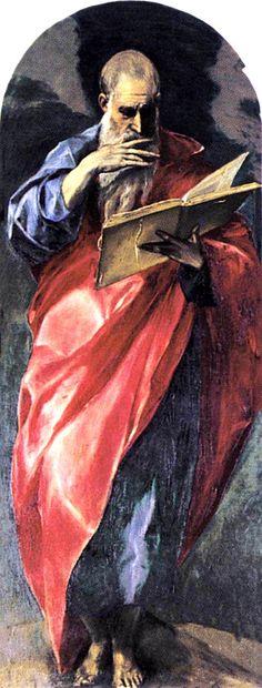 St. John the Evangelist - El Greco