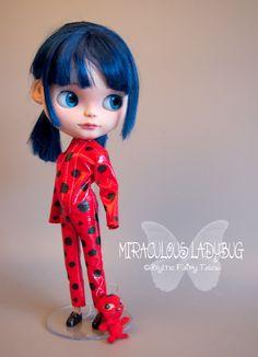 MIRACULOUS LADYBUG Custom OOAK Blythe doll by BlytheFairyTales