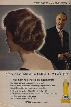 You Can Always Tell a Halo Girl ..you can tell by the shine of her hair