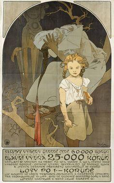 mucha | Alphonse Mucha - 2257 prizes totalling 60,000 crowns, 1912