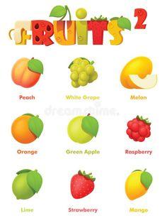 Colorful Fruit, Fresh Fruit, Food Fresh, Game Icon, Icon Set, Raspberry, Strawberry, Fruit Icons, Apple Icon