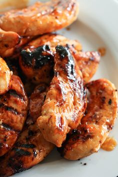 This Barbecue Peach Chicken recipe is a ten out of ten. It only requires a few simple ingredients, and tastes amazing when grilled. New Recipes, Dinner Recipes, Favorite Recipes, Healthy Recipes, Dinner Ideas, Budget Recipes, Grilled Recipes, Summer Recipes, Pork