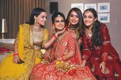 Bride tribe vibes!  #bridesmaid #indianwedding #bridesmaidposes Bridesmaid Poses, Besties, Sari, Wedding, Fashion, Valentines Day Weddings, Moda, Saree, Fashion Styles