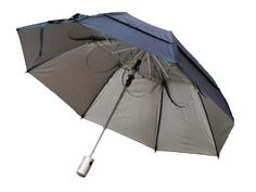 GustBuster Metro Automatic Sunblok Umbrella (Silver, 43-Inch) by GustBuster. $35.28. GustBuster Metro Automatic SunBlok will not only withstand winds of 55+ mph but will also will also protect you from harmful UVA and UVB sunrays. Same features as the standard GustBuster Metro but will also cut the temperature by up to 10 degrees. Patented technology allows wind to pass thru the teardrop shaped vent holes. Comes with a limited lifetime warranty.