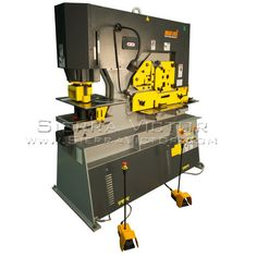ITEM: 126 Ton Heavy Duty 5 Station Ironworker,  MAKE: MARVEL®,  MODEL: MSIW126D / MSIW126DX, For more information 386-304-3720, VISIT http://sierravictor.com/index.php?dispatch=products.view&product_id=2953