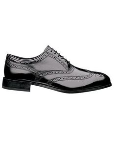 Dress it up, dress it down... a black lace-up is one shoe every man should own.   FLORSHEIM #mens #shoes BUY NOW!