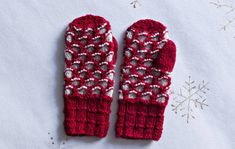 Punaharmaat lapaset Mittens, Gloves, Knitting, Crafts, Diy, Villas, Craft Ideas, Linen Fabric, Fingerless Mitts