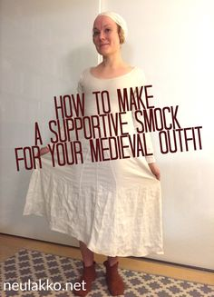 Download the thorough handout I made for a workshop I gave on making a supportive underdress at Visby medieval week at Kapitelhusgården in 2015:How to make a supportive smock – lady, …