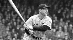 June 3, 1932 In Philadelphia, Lou Gehrig becomes the first player in the twentieth century to blast four home runs in one game, and barely misses hitting a fifth. The Yankees hammer out a major league record with 50 total bases in a 20-13 slugfest...
