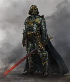 Medival Darth Vader