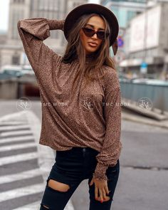 Dámska blúzka panter v krásnej farbe vo veľkosti UNI Uni, Hipster, Style, Fashion, Swag, Moda, Hipsters, Fashion Styles, Hipster Outfits