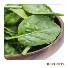 #Spinaci  Gli spinaci alleviano la sindrome premestruale.  È noto infatti che un corretto apporto di calcio ne allevia i sintomi, e queste ottime verdure ne sono una fonte eccellente: 210mg/100g
