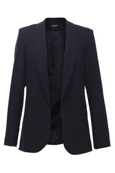 Basic Black Casual Blazer