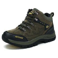 2017 Men Women Outdoor Hiking Shoes Climbing Mountain Sneakers Fishing Water Camping Trekking Sports Waterproof Plus Size 46 47 free shipping worldwide
