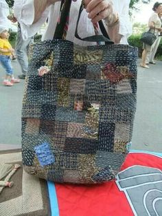 Sashiko Shopping Bag