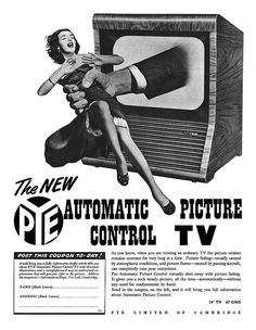1953 Pye Televisions ad