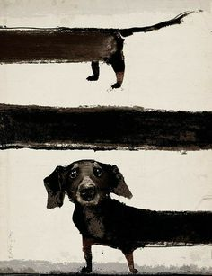 Another great example of fine dachshund art. // Dachshund in Films, Night with Film, poster, R. Source by The post Another great example of fine dachshund art. // Dachshund in Films, Night with F& appeared first on McGregor Dogs. Inspiration Art, Art Inspo, Arte Dachshund, Dachshund Drawing, Art Et Illustration, Dog Paintings, Dog Portraits, Art Design, Painting & Drawing