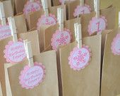 Items similar to Princess Birthday Party Favor Pink Bubble Bath Personalized Label on Etsy