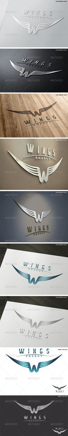 Logo idea  I like the symbolism of the wings to illustrate the breakaway from it all mentality that the creative studio has.