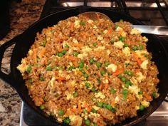 Not Fried Rice #vegan #oilfree #glutenfree