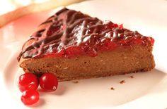 Ocean Spray Cranberry Chocolate Brownie Cheesecake