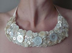 Mother of pearl button #necklace   http://www.etsy.com/listing/75120547/mother-of-pearl-button-adored-bid?ref=tre-604539562-5