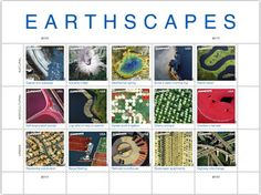 Earthscapes • as part of the USPS collection • Designed by Howard E. Paine • October 1, 2012