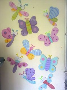 Discover thousands of images about Madera Country Foam Crafts, Diy And Crafts, Arts And Crafts, Paper Crafts, Arte Country, Butterfly Party, Animal Crafts For Kids, Crafts For Seniors, Art N Craft