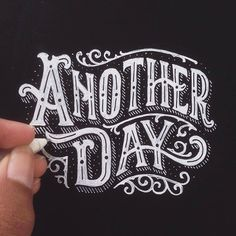 Great lettering by @alfonsusabim   #typegang - typegang.com   typegang.com #typegang #typography