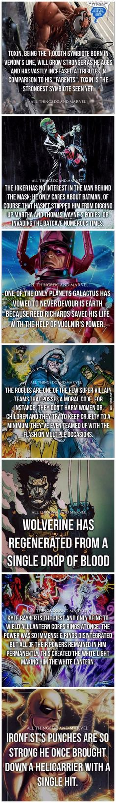 Superhero Facts: Part 3