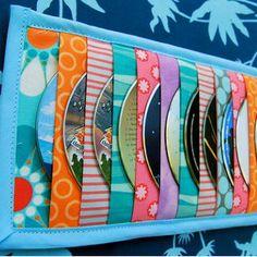 Sale Car Visor CD Holder Sewing Pattern by GeorgiaLeighDesigns Sewing Hacks, Sewing Tutorials, Sewing Crafts, Sewing Projects, Craft Projects, Sewing Tips, Craft Ideas, Diy Crafts, Cd Organizer