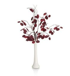 M vase and flowers