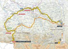 Tour de France 2015 stage 10 map