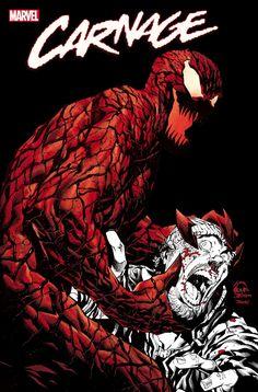 Marvel Art, Marvel Comics, Carnage Symbiote, Marvel Villains, Marvel Comic Character, Marvel Wallpaper, Art Reference Poses, Detailed Image, Marvel Universe