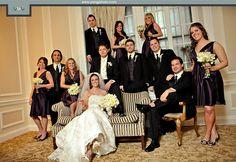 Unique Wedding Photography Poses | Amazing Elegant Indoor Wedding | YesBride Wedding Blog