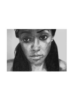 ''Candice'' charcoal ,and graphite