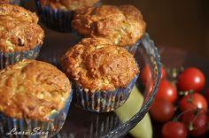 Muffins cu ton Baking Bad, Zucchini, Seafood, Muffins, Food And Drink, Breakfast, Recipes, Mai, Sea Food