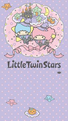 "Little Twin Stars ""Happy Halloween"", as collected via Sanrio Sanrio Wallpaper, Star Wallpaper, Hello Kitty Wallpaper, Kawaii Wallpaper, Girl Wallpaper, Iphone Wallpaper, Kawaii Halloween, Cute Halloween, Halloween Costumes"