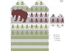 Krāsaini cimdu raksti - Rokdarbu grāmatas un dažādas shēmas Knitted Mittens Pattern, Knit Mittens, Knitted Gloves, Knitting Socks, Hand Knitting, Filet Crochet, Crochet Chart, Knit Crochet, Knitting Charts